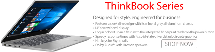 Lenovo Thinkbook Series